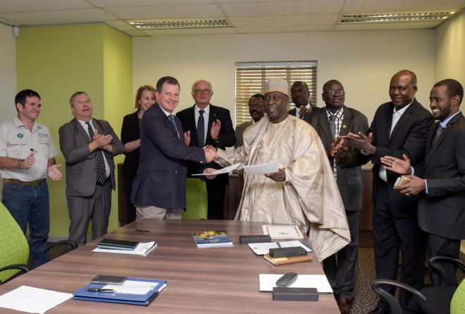 Greater Zakouma Agreement Signing at African Parks